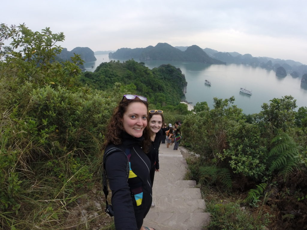 Viewpoint of Halong Bay