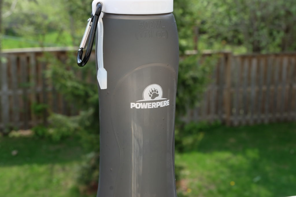 PowerPere Collapsible Waterbottle
